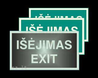 01. Evakuacijos ženklai