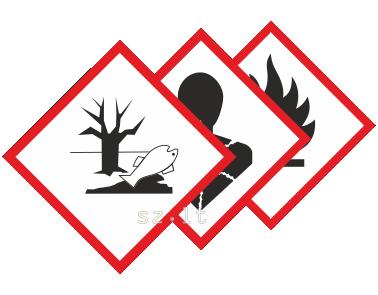 15.2. Pavojingų medžiagų ženklai